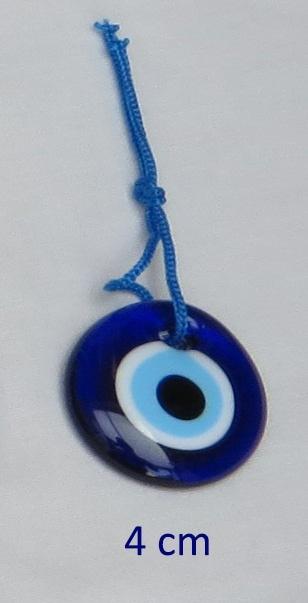 """hanger """"boze oog"""" 4 cm"""