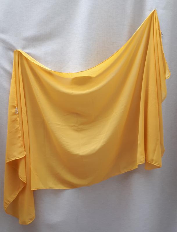 sluier 203 okergeel (200 x 85cm)