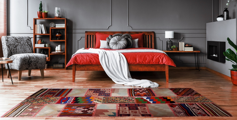 Kelim patchwork 68x220