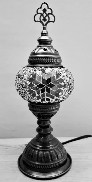 Model tafellampje 10cm