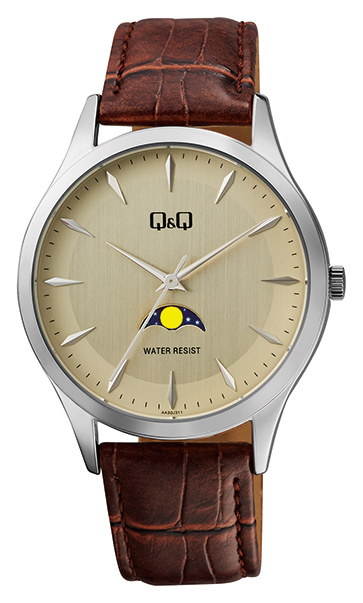 Q&Q Heren Horloge Waterdicht