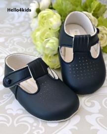 donkerblauwe baby schoentjes  baypods