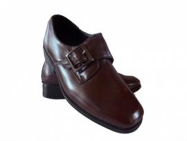 Bruine bruidsjonker schoen (3645) Maat 31