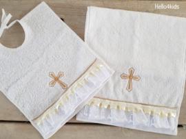Slabbetje & priester doekje voor de doop