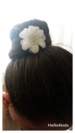 Xxl haarpin bloem en stras
