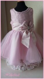 Feestjurkje Louise roze