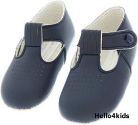 Navy blue donkerblauwe  baby schoentjes  baypods