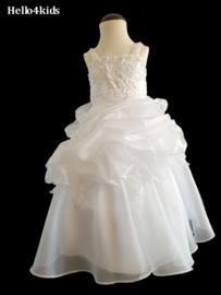 Witte communie jurk  bruidsmeisjes Lisa