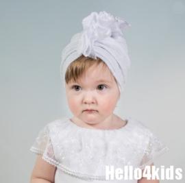 Baby kanten tulband