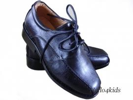 Jongens schoen Zwart met veter Mt 29 t/m 31