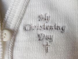 Doop vestje My christening day