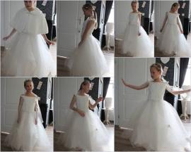 Bruidsmeisjes, communie jurk Sissi