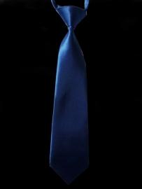kobalt blauwe kinderstropdas