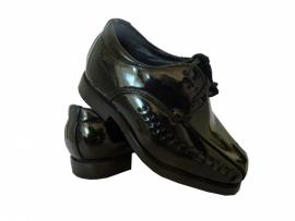 zwart schoentje bruidsjonker - feestschoentje