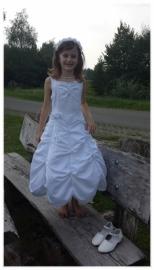 Anne fleur Communie jurk Maat 122