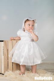 Baby peuter feest jurkje met hoedje No:40