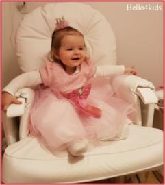 Bruidsmeisjes - verjaardags jurkje Rowena Roze