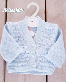 angel kids vest sky blue