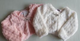 bolero baby bont jasje ivoor & perzik kleur