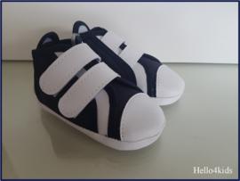 donkerblauwe baby schoentjes  Toma