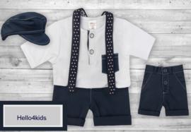 Kostuumpje korte broek Bretels