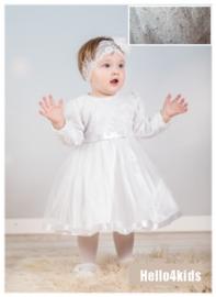 Baby peuter feest jurkje lange mouwen no: 40