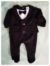 Baby feest smoking romper kostuum