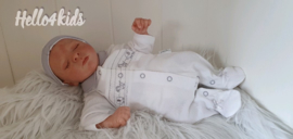Pematuur baby pakje zebra-olifantjes Unisex