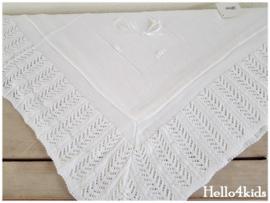 Luxe doop/geboorte deken