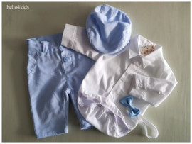 Babyblauw wit feest setje Jaxx HEMELS!