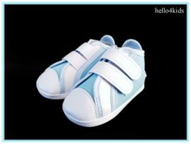 Hemels blauwe doop bruidsjonker schoentjes