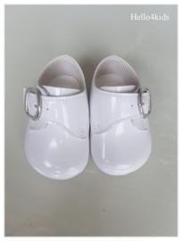 witte Baypods bruidsjonker doop schoentjes
