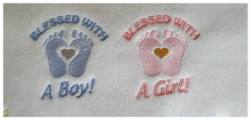 Blessed  With a boy/Girl