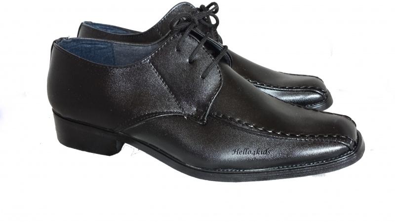 Wonderbaarlijk Zwarte gala schoen, bruidsjonkerschoen | Jongen(tjes) Heren TJ-82