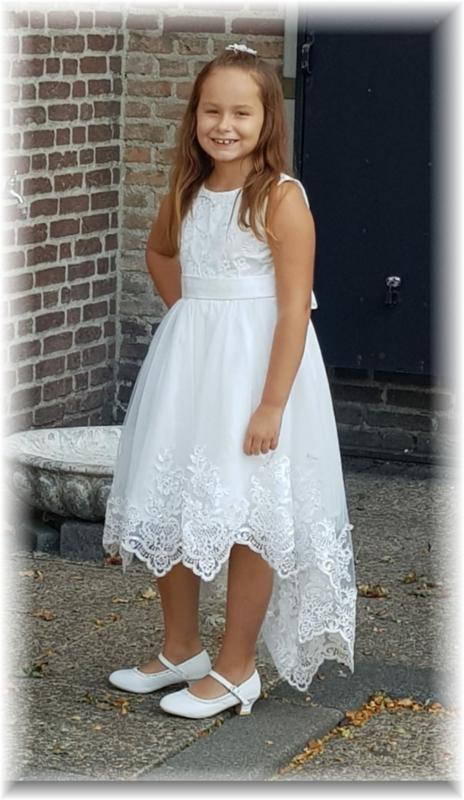 ivoor communie - bruidsmeisjes jurkje Ashley