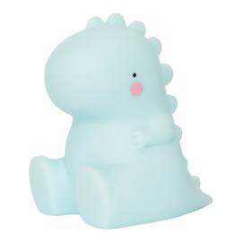 Lampje T-rex blauw, A little lovely company