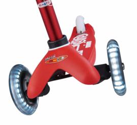 Mini de luxe, rood, LED, Micro Step