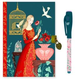 Djeco dagboek met magic pen, Lisa