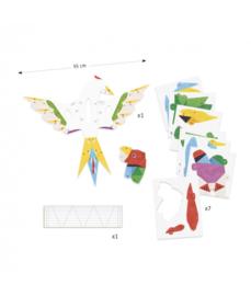 3D-poster, vogel, Djeco