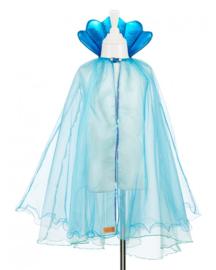 Blauwe cape `Maryola`5-7 jaar, Souza