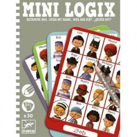 Mini logix, wie ben ik, jongens, Djeco
