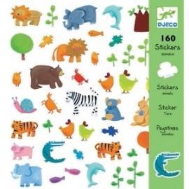 Stickers dieren, Djeco