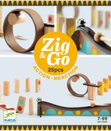 Djeco Zig & Go 25 stuks