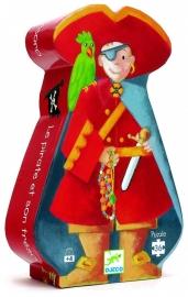 Djeco Puzzel, piraat 36 stukjes