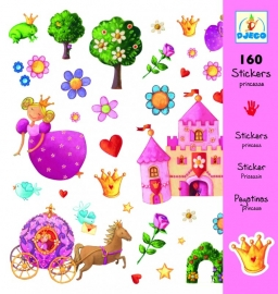 Stickers prinses, Djeco