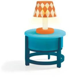 Lamp op tafel, poppenhuis, Djeco
