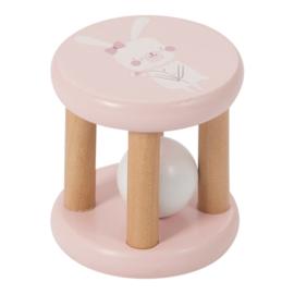Rammelaar roller, roze, Little Dutch