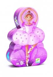 Djeco Puzzel, Ballerina met de bloem 36st.