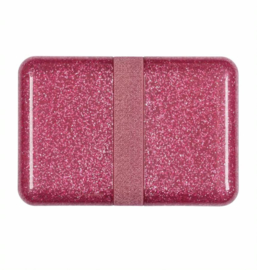 Lunchbox glitter, roze, A little lovely company