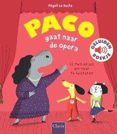 Paco gaat naar de opera, geluidsboek 3+